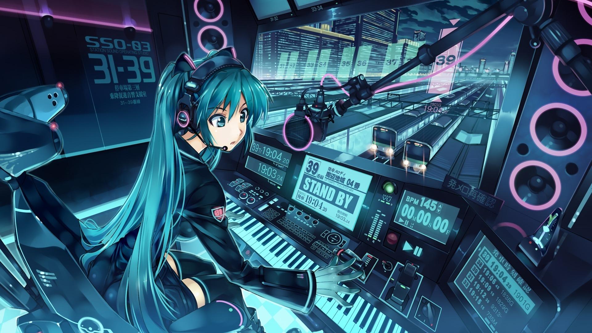 Hd wallpaper anime - Wallpapers 26592 Anime Girl Train Station Operator