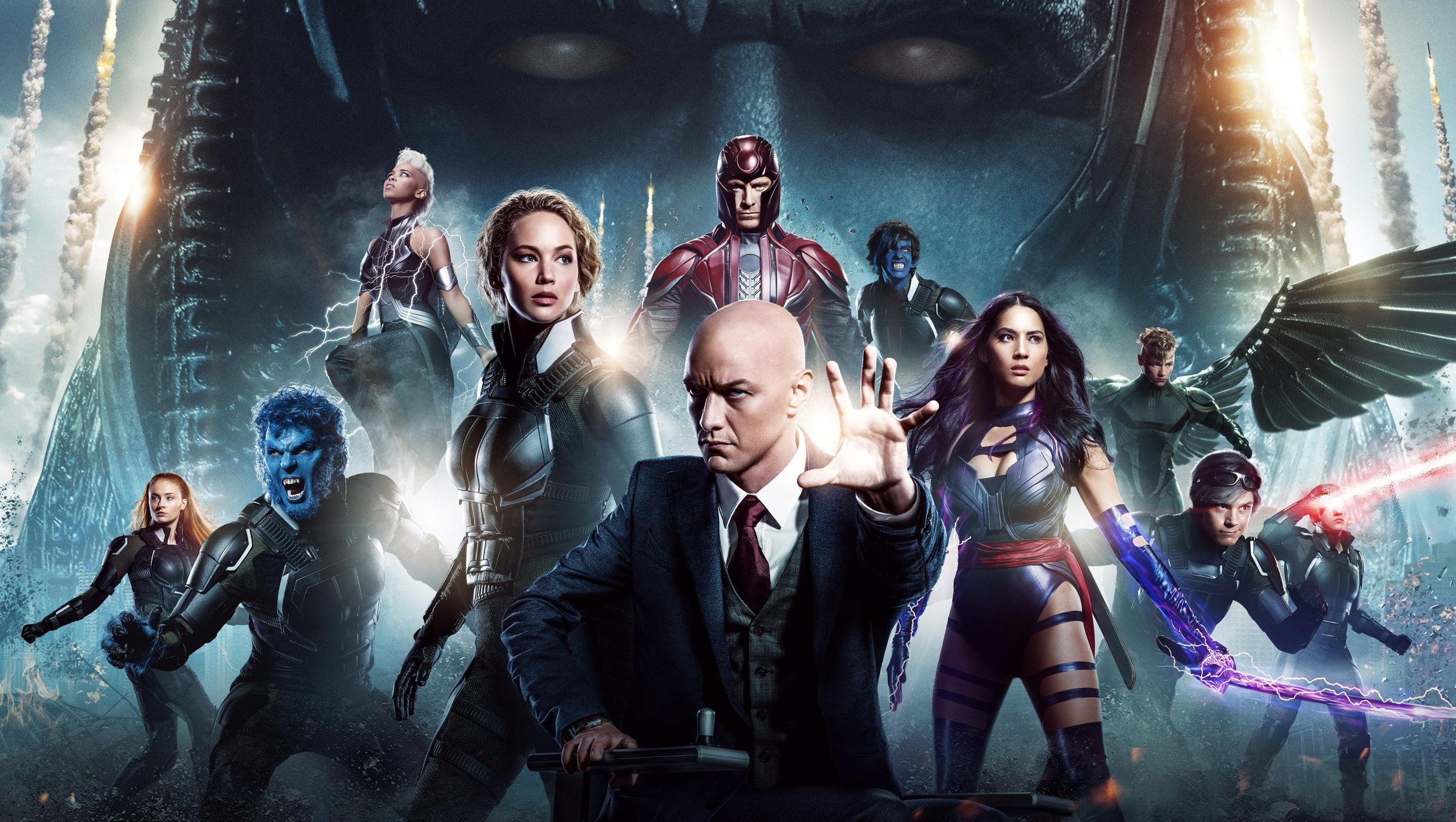 X Men Apocalypse 2016 Desktop Wallpaper Moviemania 2552x1442