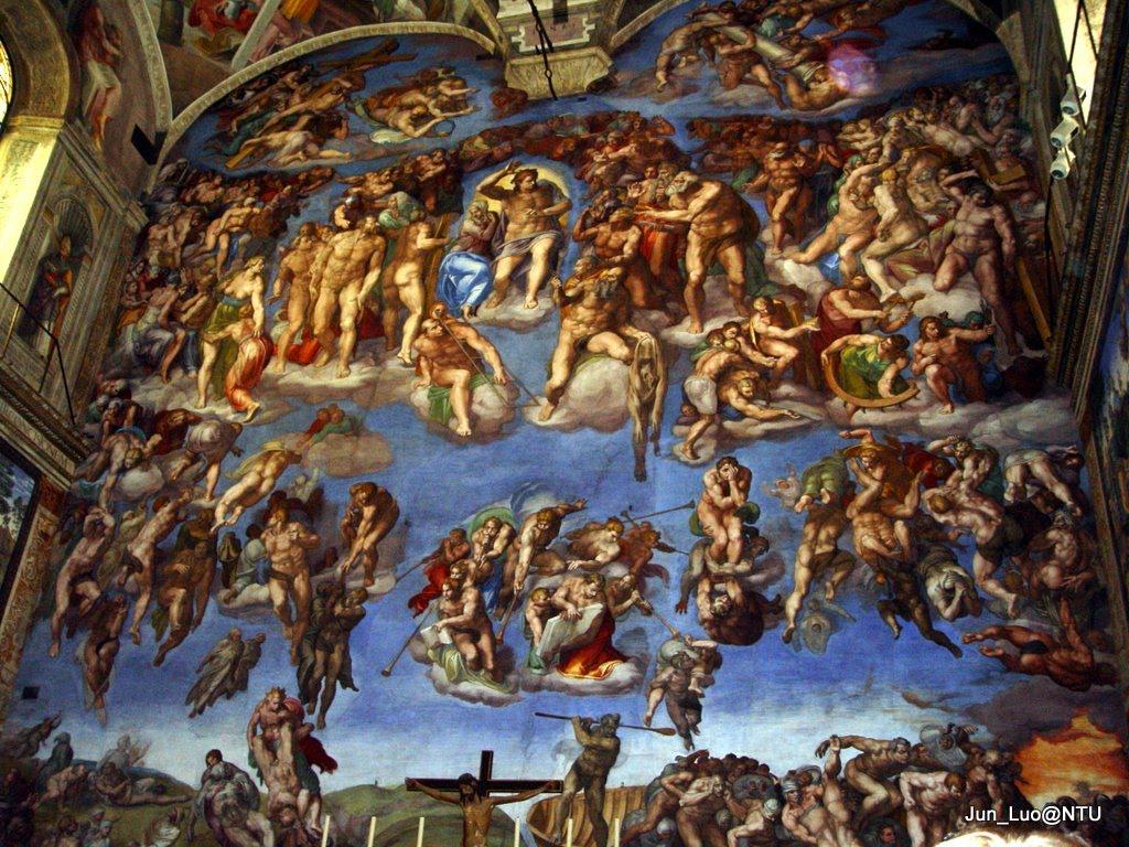 x Vatican Sistine Chapel Painting Pictures Sistine Chapel