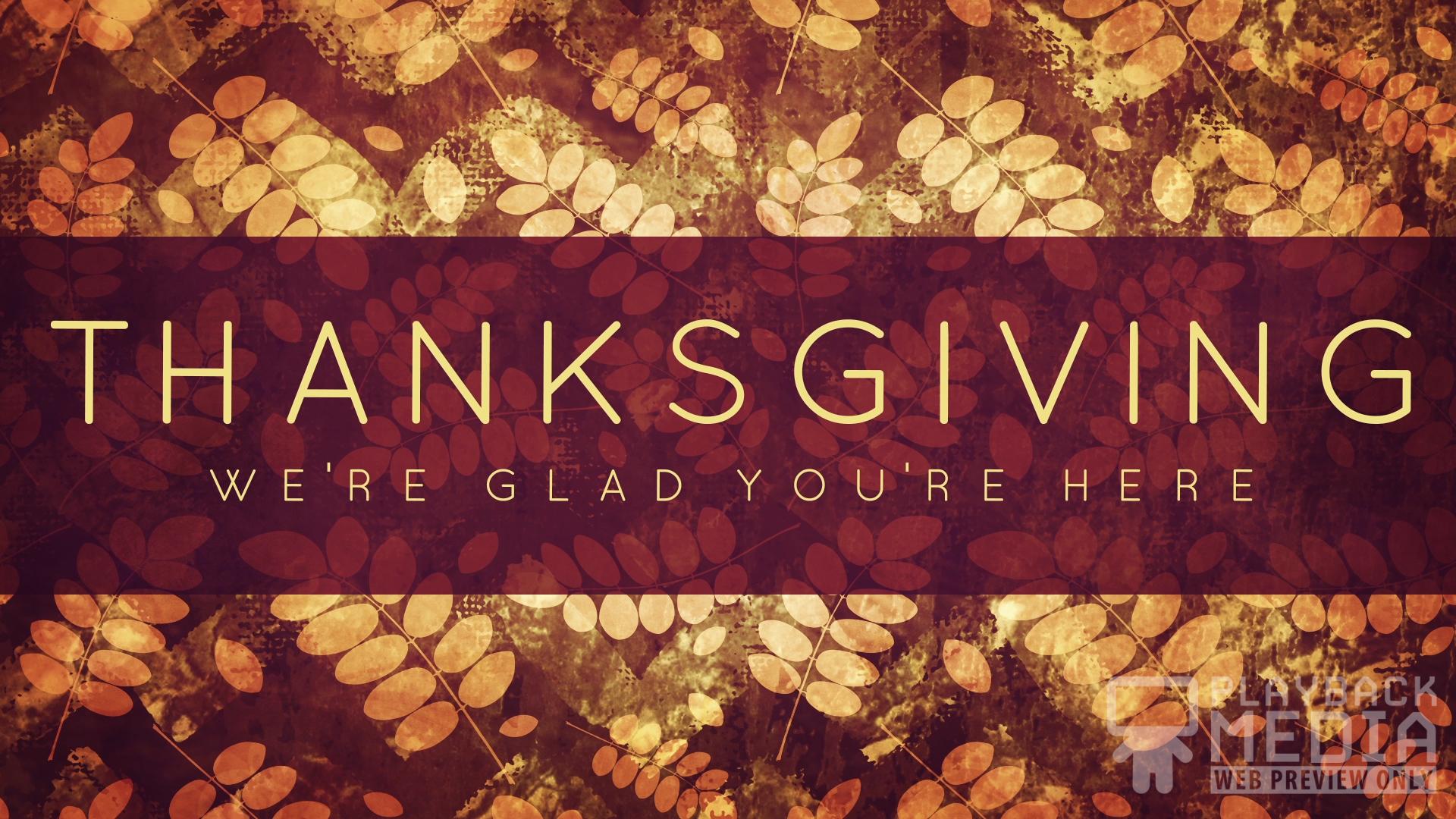 Thanksgiving Gratitude Holiday 1 Still   Playback Media 1920x1080
