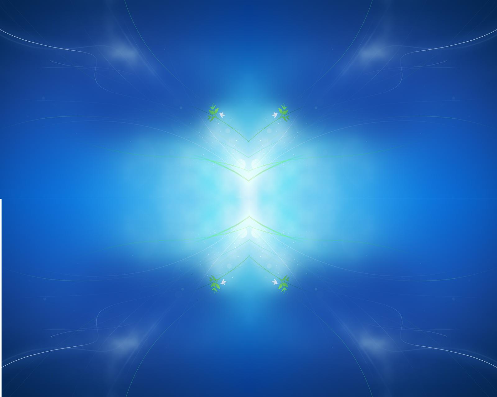 Windows 7 Blue Wallpapers Best Desktop Hd Wallpapers 1600x1278