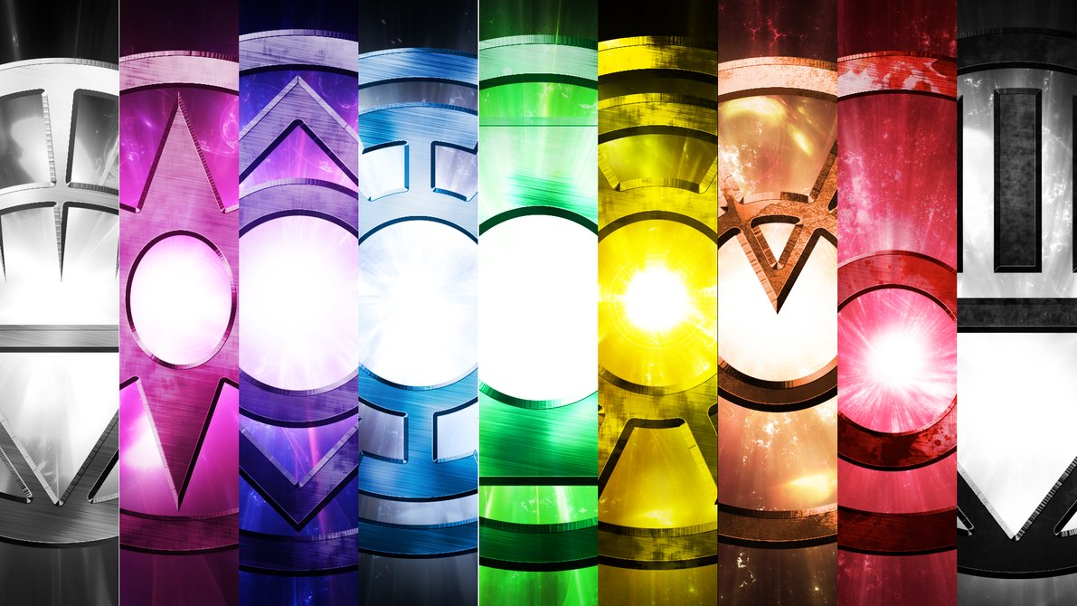 The Lantern Corps Wallpaper Pack by OverdrivenZX 1191x670