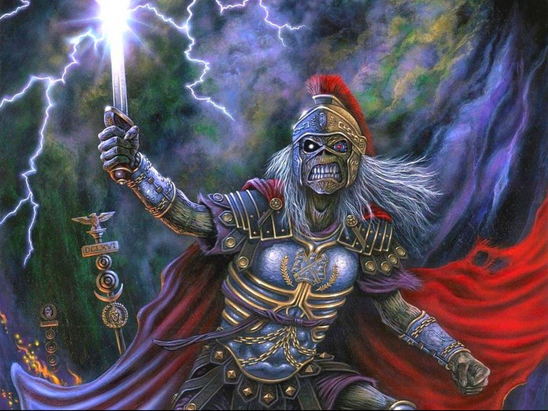 Iron Maiden Desktop Wallpaper: Iron Maiden Eddie Wallpaper