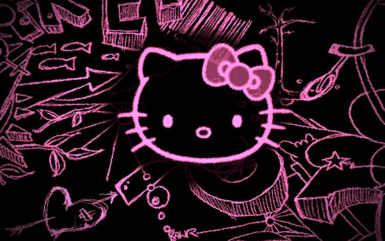 Hello Kitty Wallpapers And Screensavers 1280x800