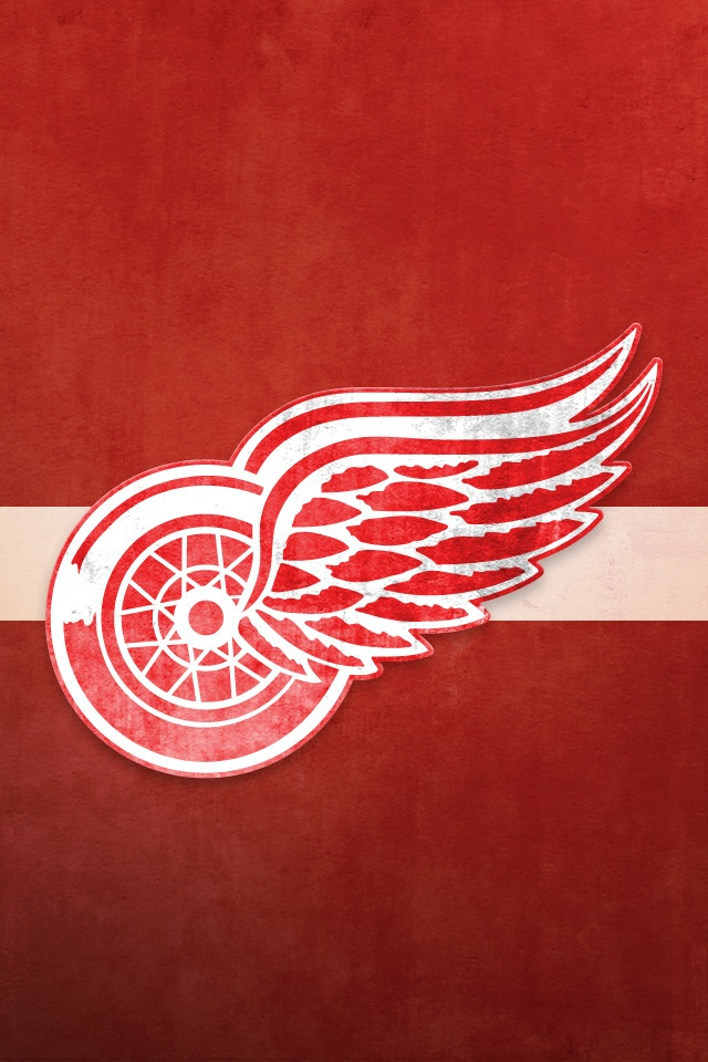 Detroit Red Wings iPhone Background NHL WALLPAPERS Pinterest 640x960