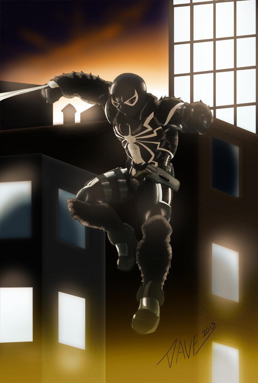 Agent Venom by DStevensArt 825x1225