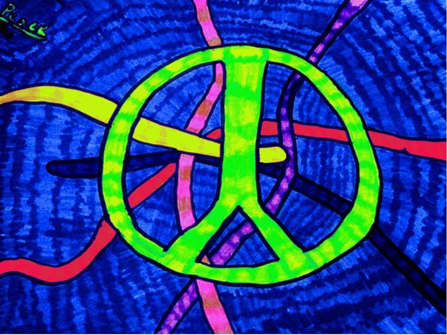 peace signs wallpaper 900x675