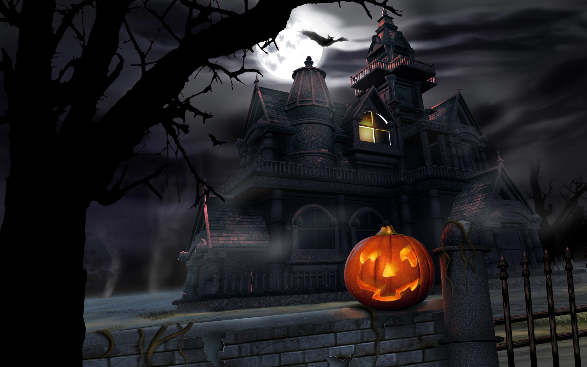 Live Halloween Wallpaper for Desktop 62 images 1920x1200