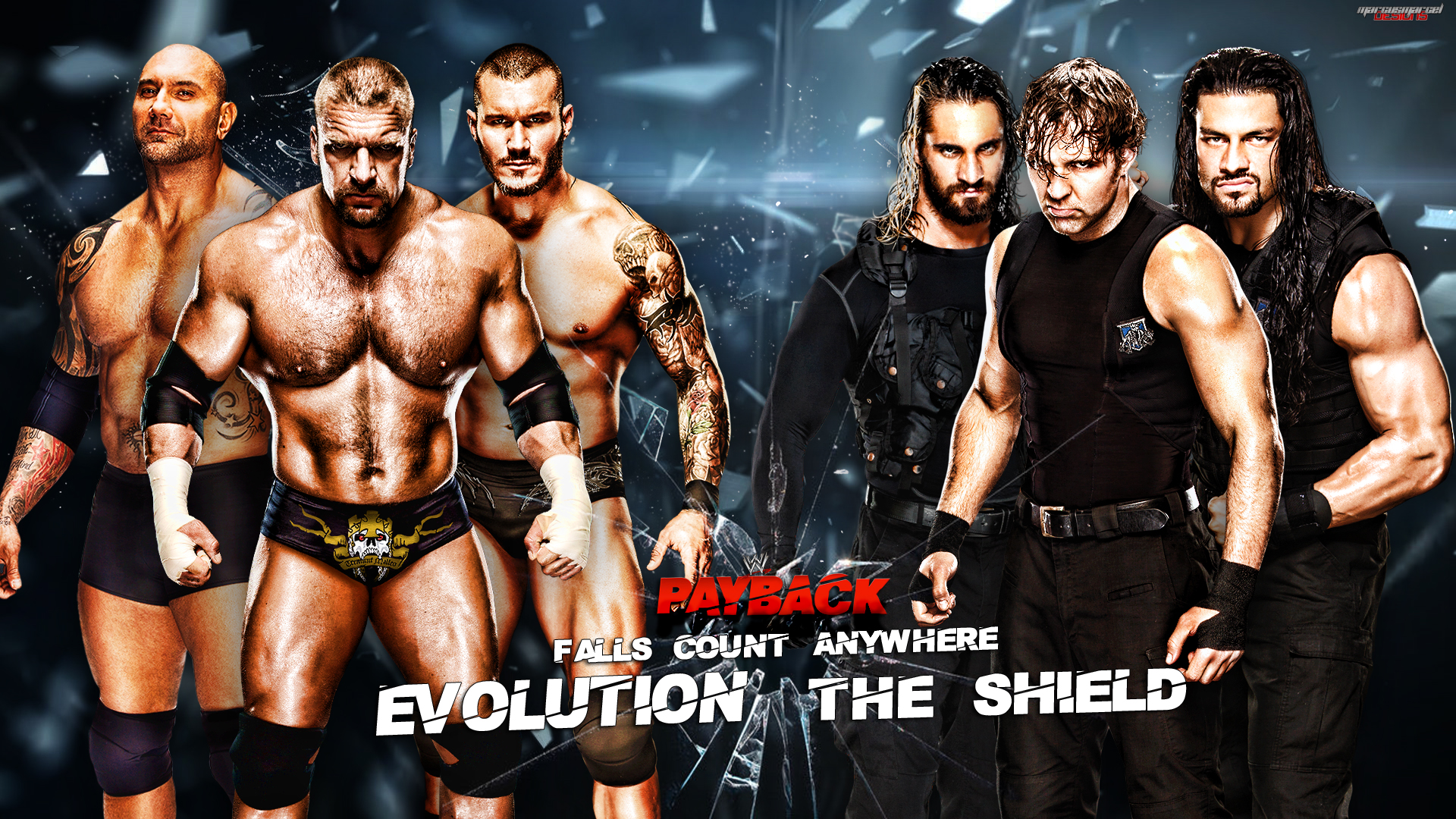 Download Wwe Evolution Wallpaper Evolution by marcusmarcel 1920x1080