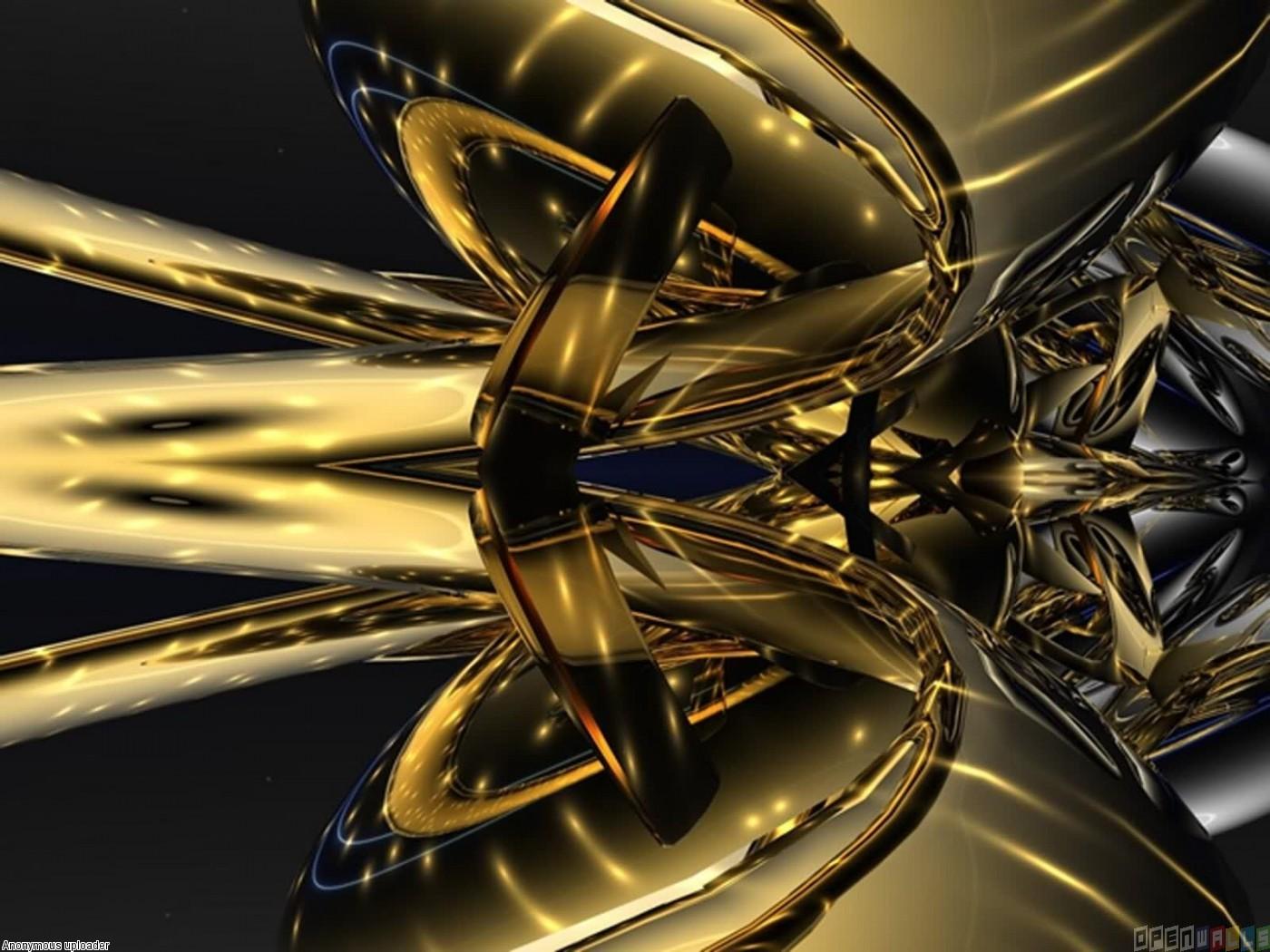 Abstract gold wallpaper 4107   Open Walls 1400x1050