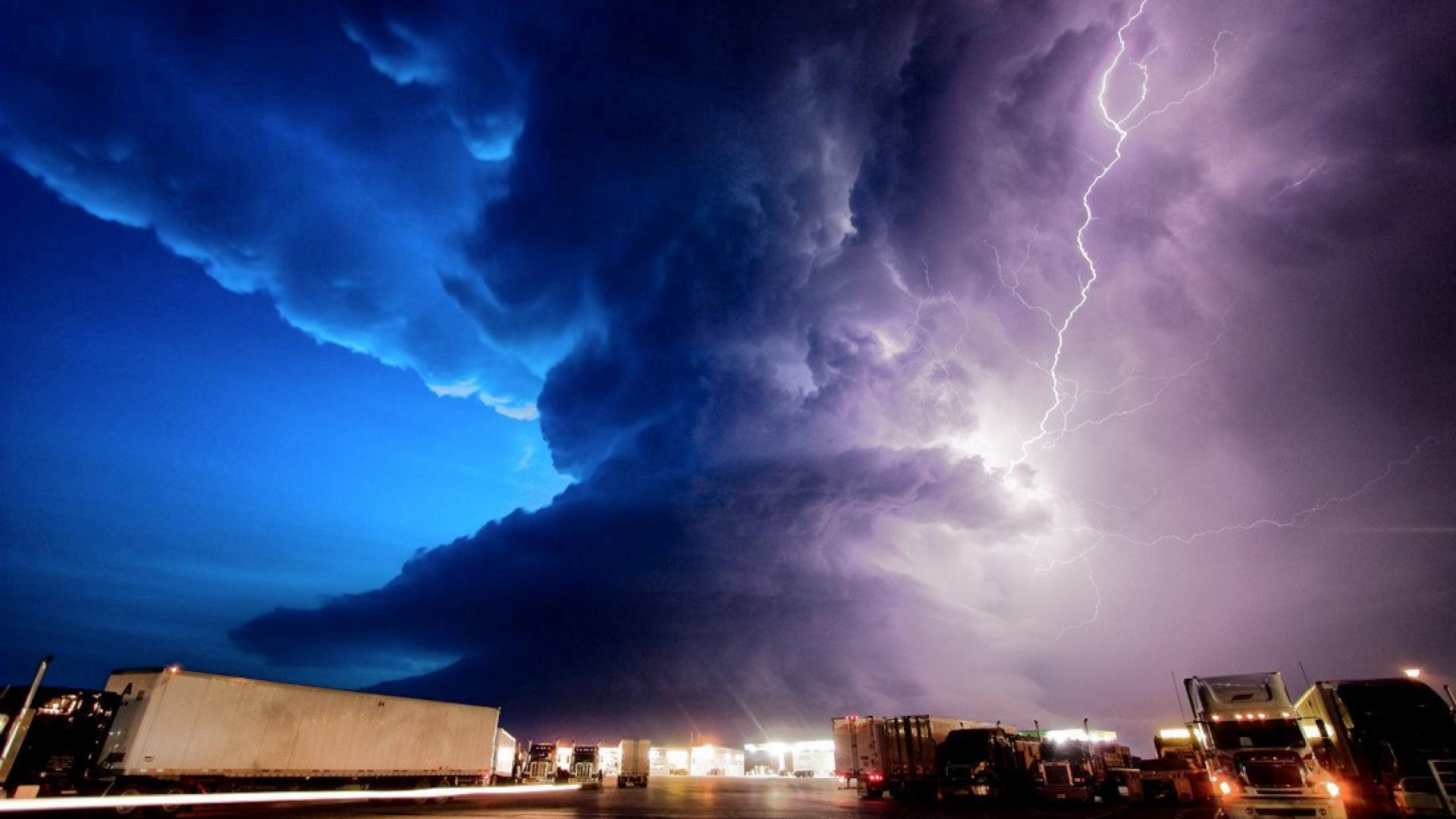 Supercell lightning mike storm wallpaper 84857 1920x1080