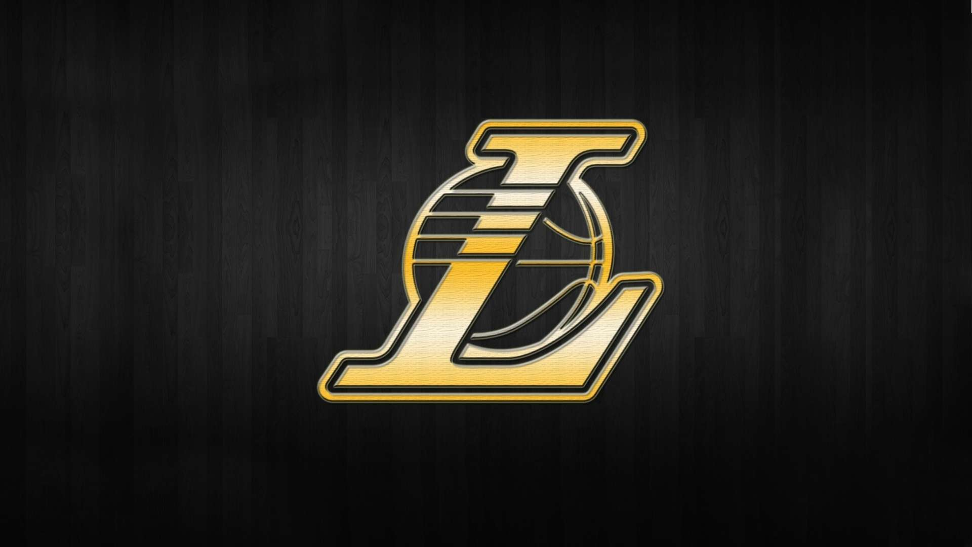 Los Angeles Lakers Nba Logo Background Gold Hd Wallpaper 1080p 1920x1080