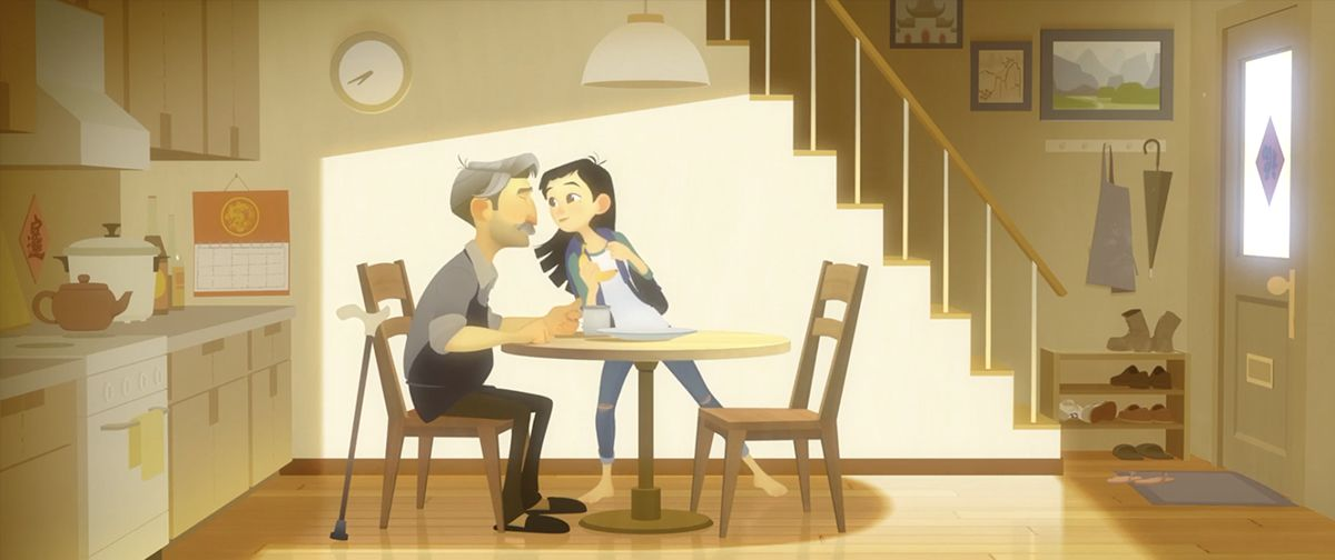 Trailer oficial do curta One Small Step do Taiko Studios THECAB 1200x504