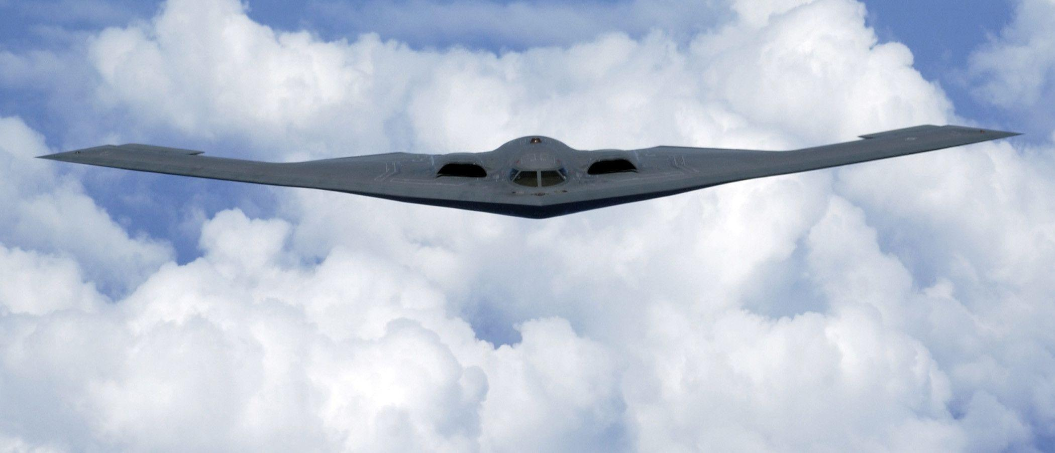 Stealth Bomber Wallpapers 2100x902