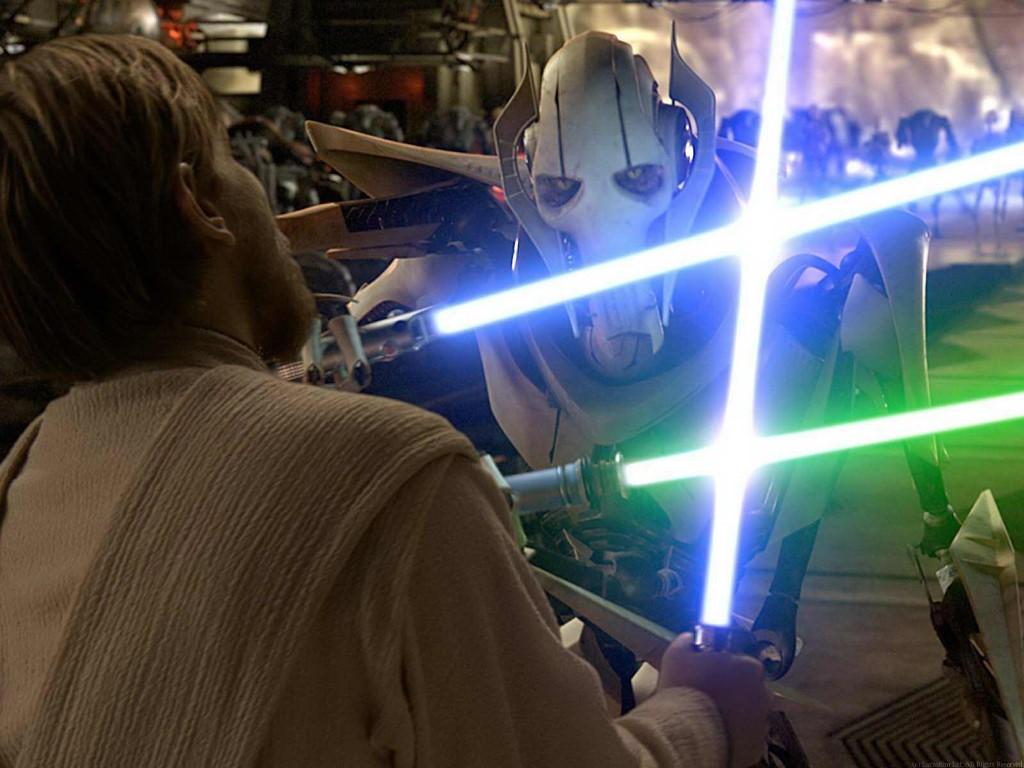 Grievous v Obi Wan   The Mad Movie Man 1024x768