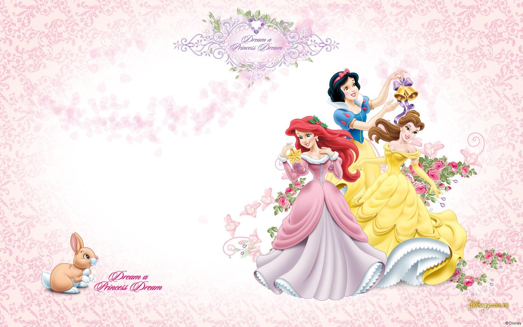 Новым годом, детские открытки с принцессами