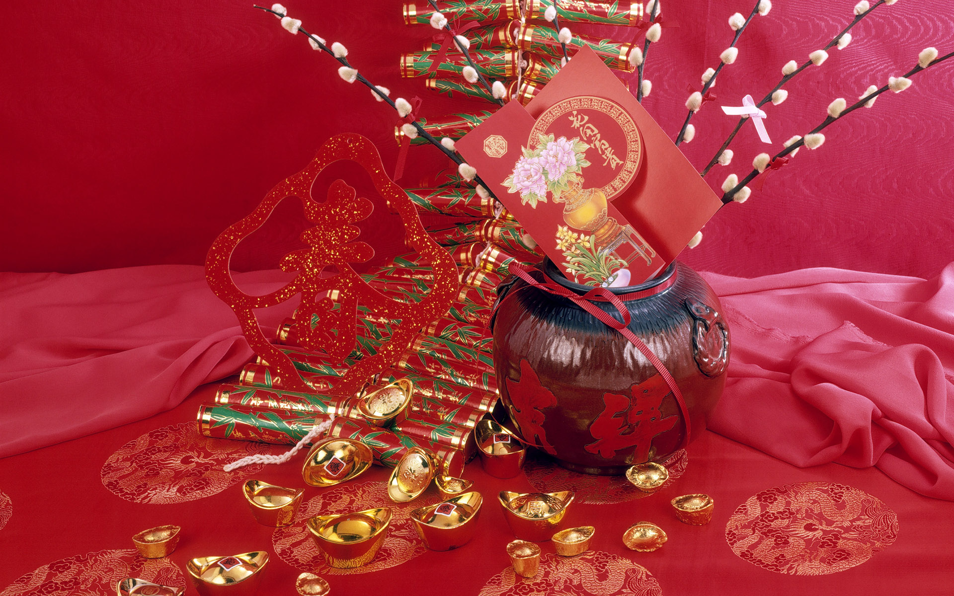 Download Happy Chinese New Years Wallpaper Background pictures in high 1920x1200