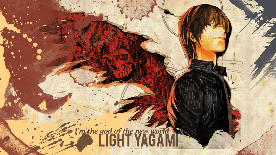 wallpaper Light Yagami by Helsic 900x506