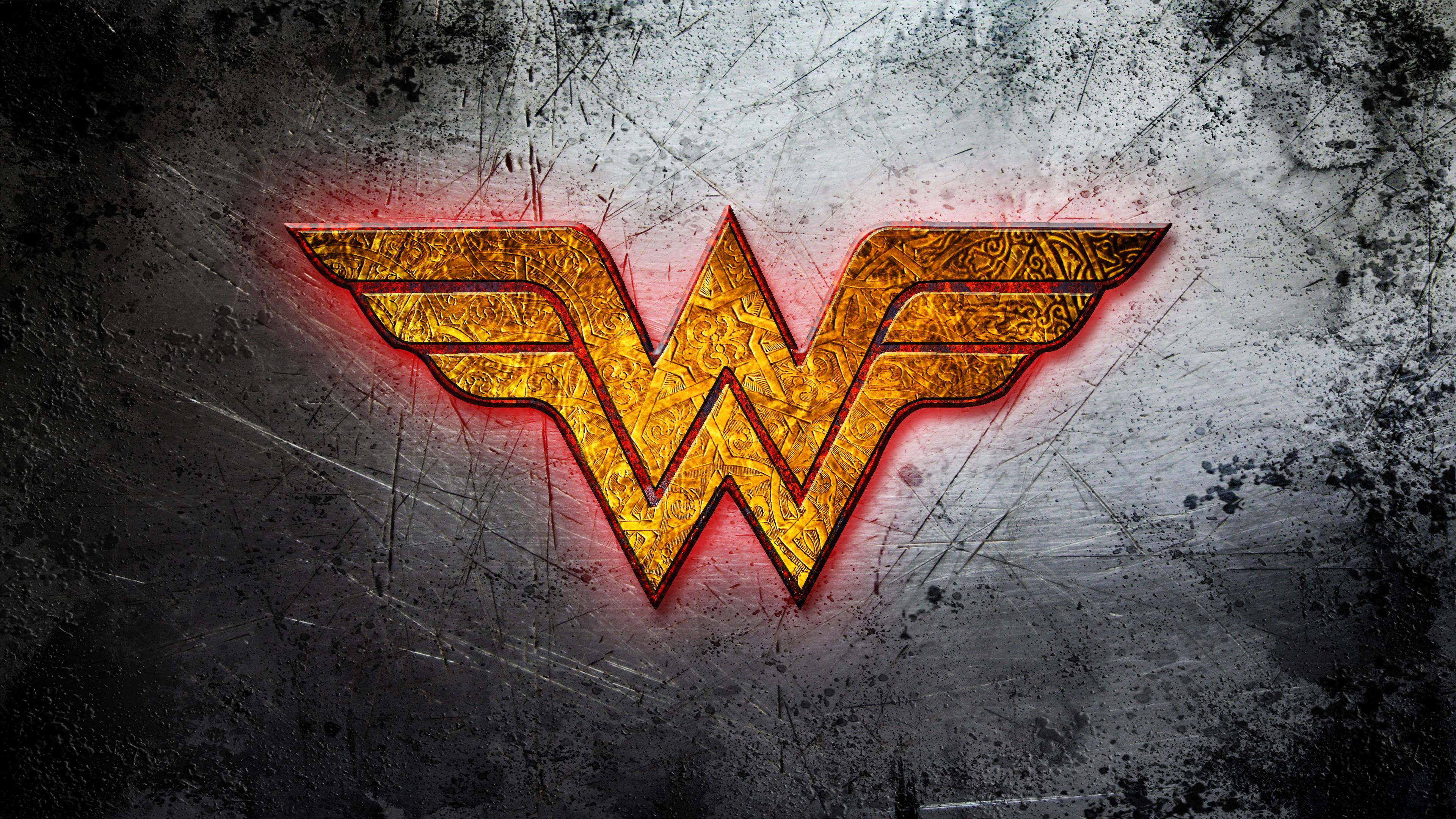 Hd wallpaper wonder woman - Wonder Woman Logo Wallpaper Wallpapersafari