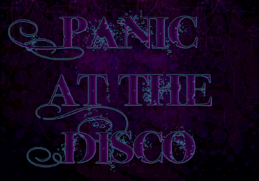 Panic at the Disco background by WolvenZhael 900x629