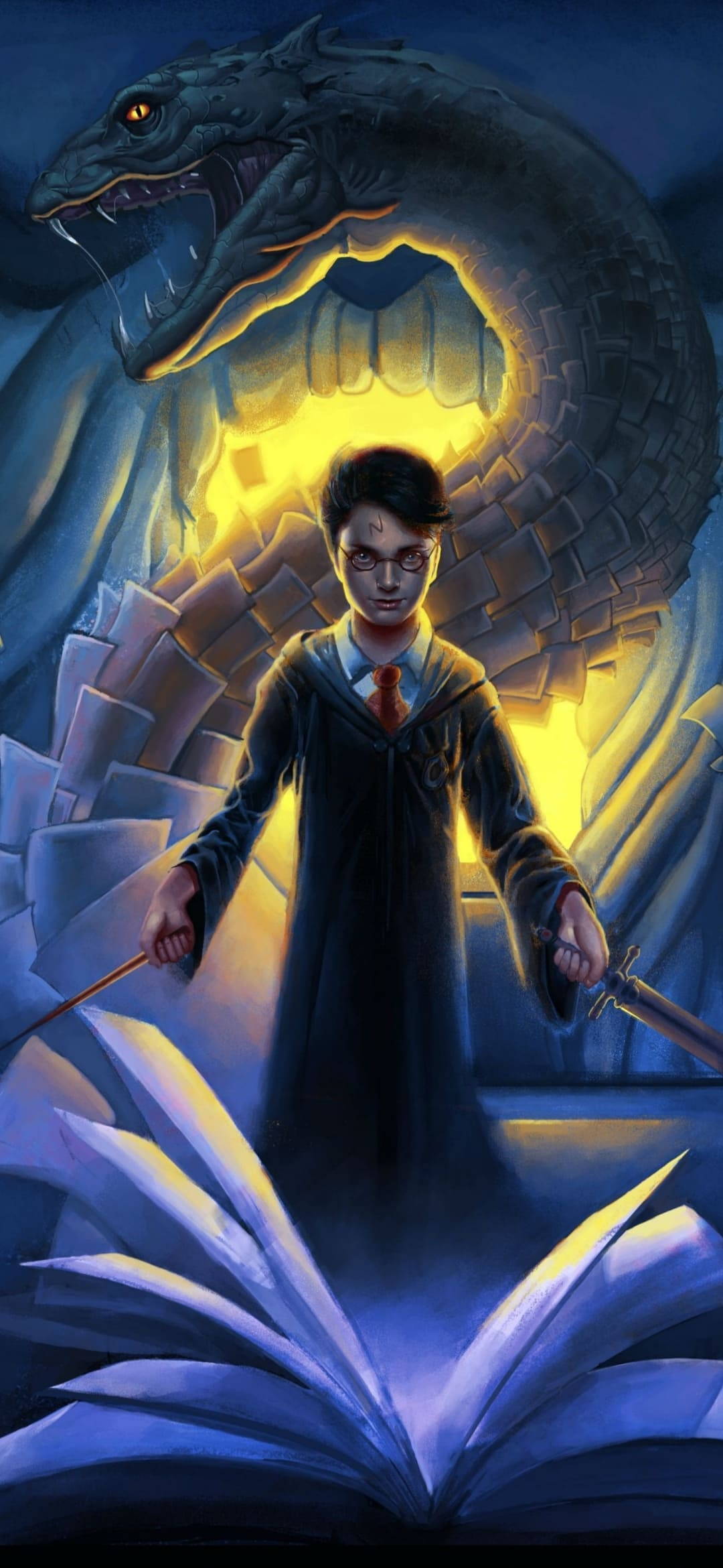 65 Harry Potter Wallpapers Top 4k Harry Potter Wallpaper 1080x2340