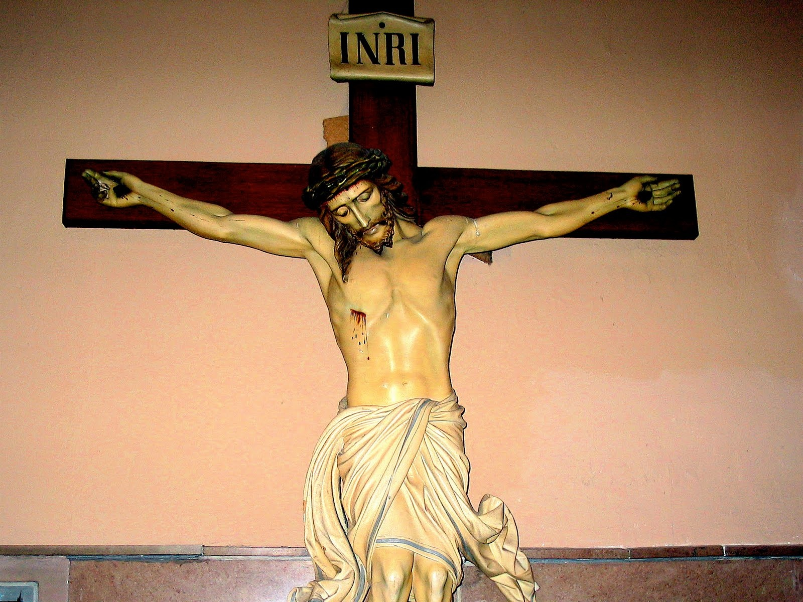 Jesus Christ INRI Wallpapers   1600x1200   625989 1600x1200