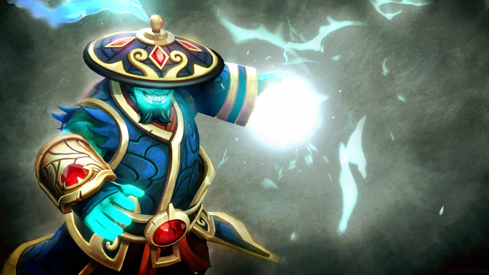 Wallpaper 1600x900 Dota 2 Storm spirit Gifts of fortune set 1600x900 1600x900