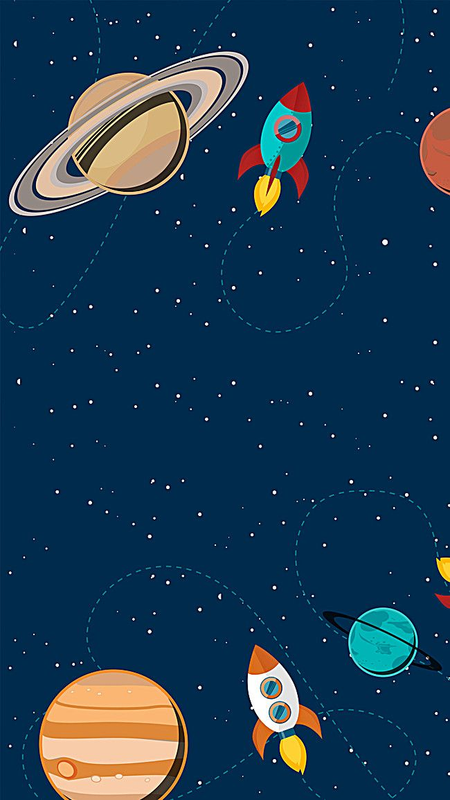 kids h5 background in 2019 Space artwork Kids 650x1155