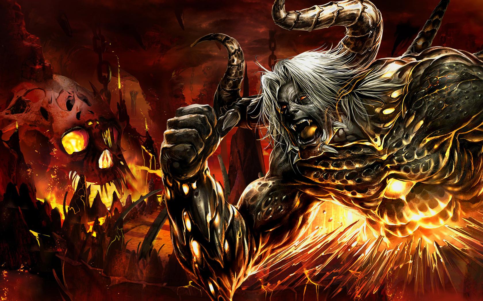 Cool Bull Devil Wallpaper Android 2764 Wallpaper High 1680x1050