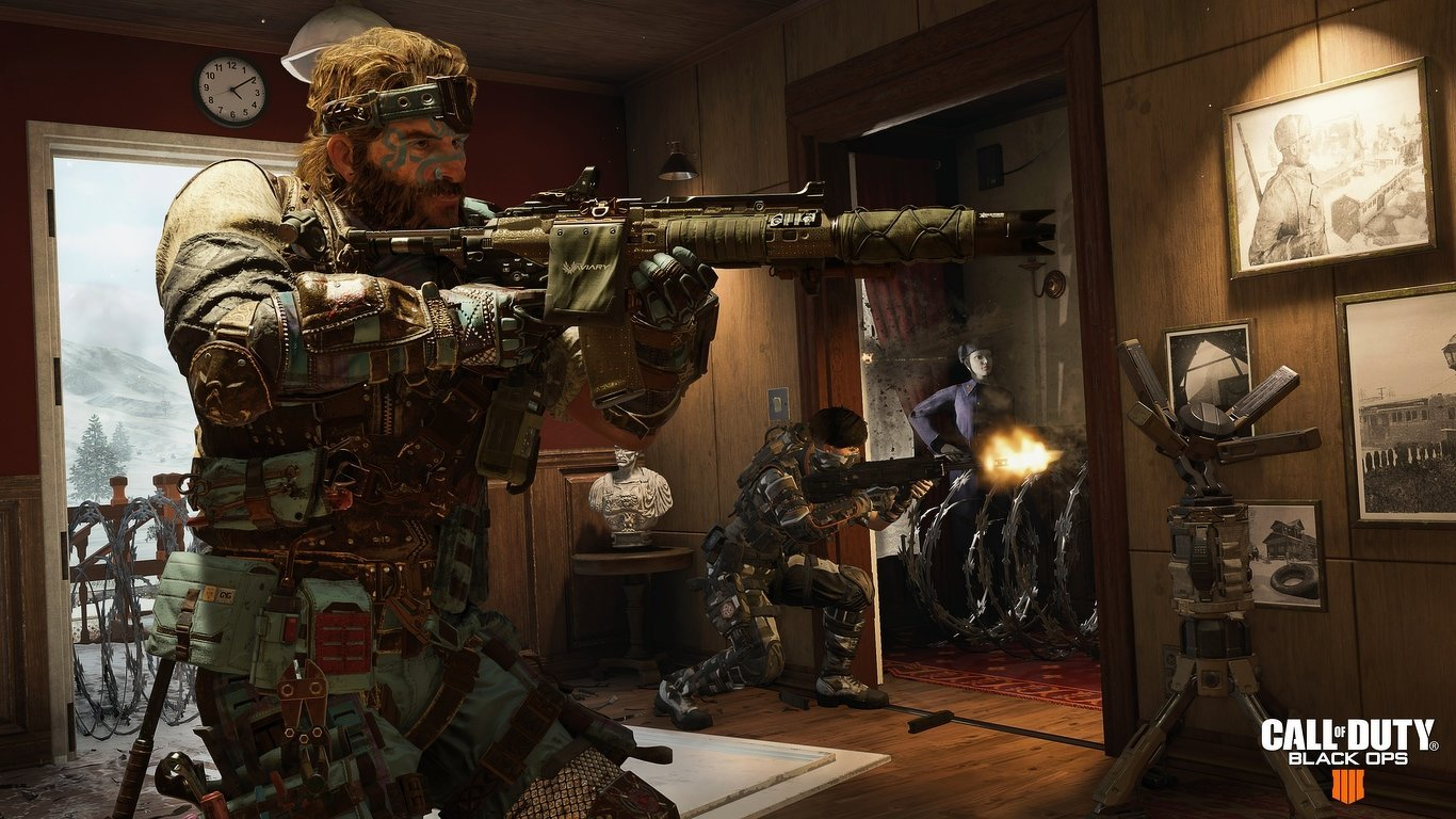 Free Download Nuketown Call Of Duty Black Ops 4 Wallpaper 1366x768