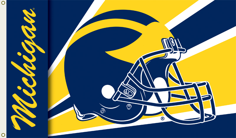 michigan wolverines logo wallpaper   weddingdressincom 800x467