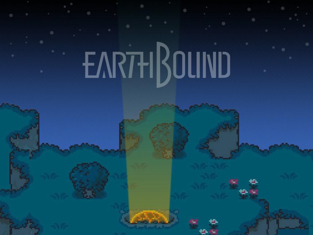 EarthBound Wallpaper EarthBound Desktop Background 1024x768