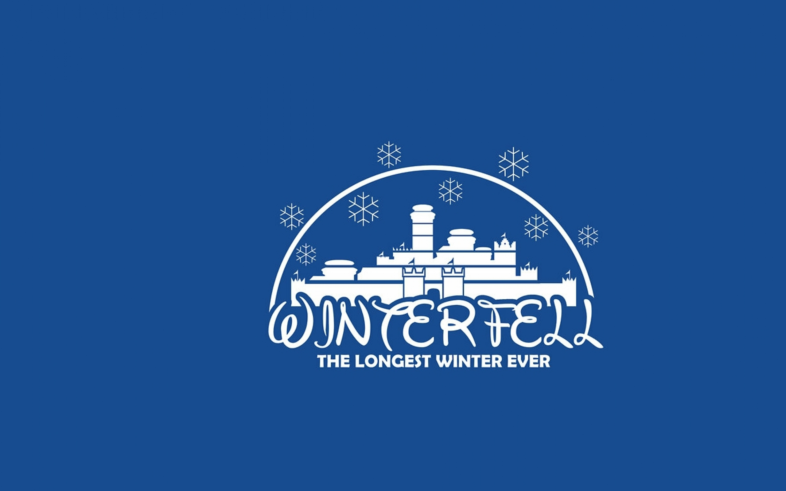 disney company minimalistic funny a song of ice and fire winterfell 2560x1600