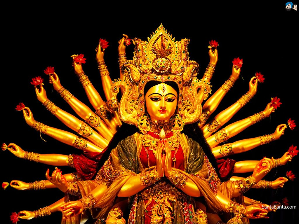Durga Wallpapers Maa Wallpaper Mata Ji 1024x768