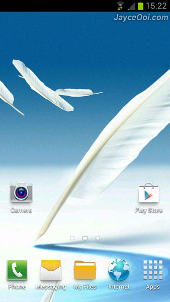 WTI Download Samsung Galaxy Note 2 Live Wallpaper 338x600