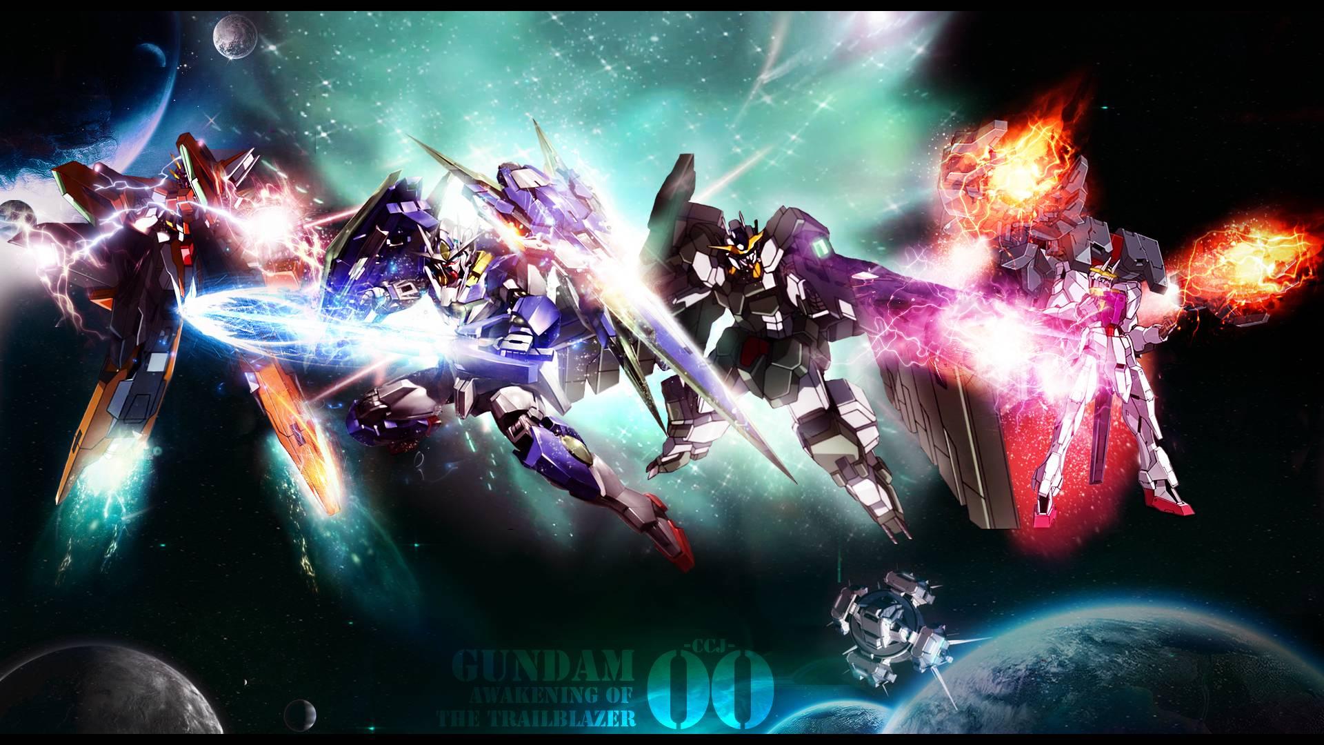 awakening of the trailblazer   Gundam 00 Wallpaper 1920x1080