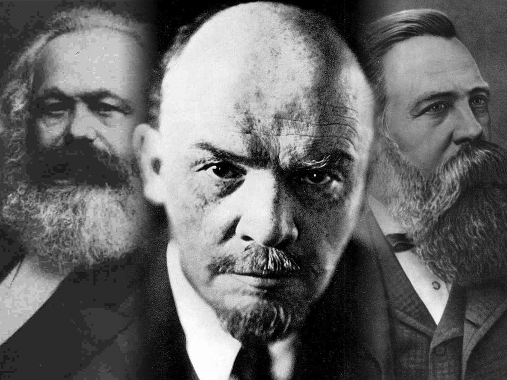 Free download Marx Lenin Engels by systemdestroyer [1024x768] for ...