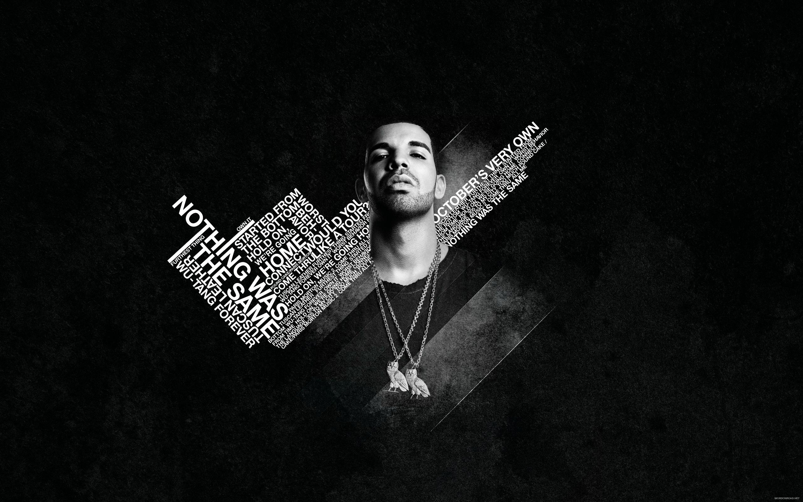 Drake Nothing Was the Same Rap Wallpapers 2560x1600