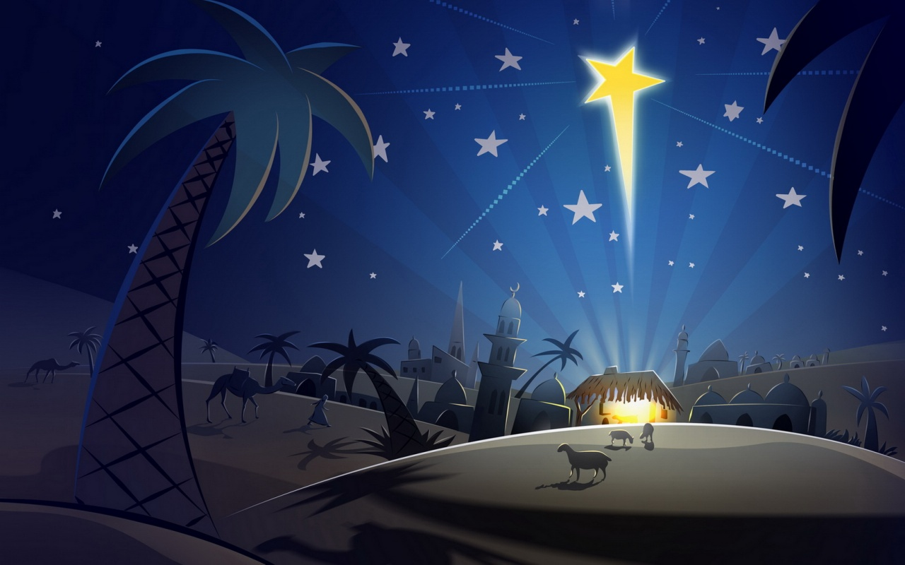 download christmas religious wallpaper jesus christ star wallpaper 1280x800