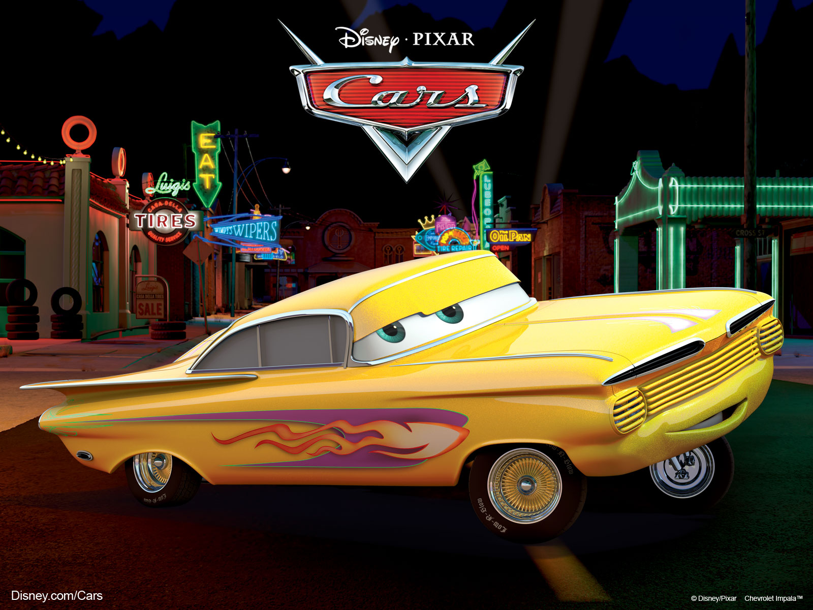 Ramone from Pixars Movie Cars wallpaper   Click picture for high 1600x1200
