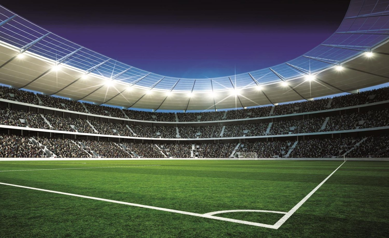 спорт поле стадион футбол вечер sports field the stadium football evening  № 3312012 загрузить
