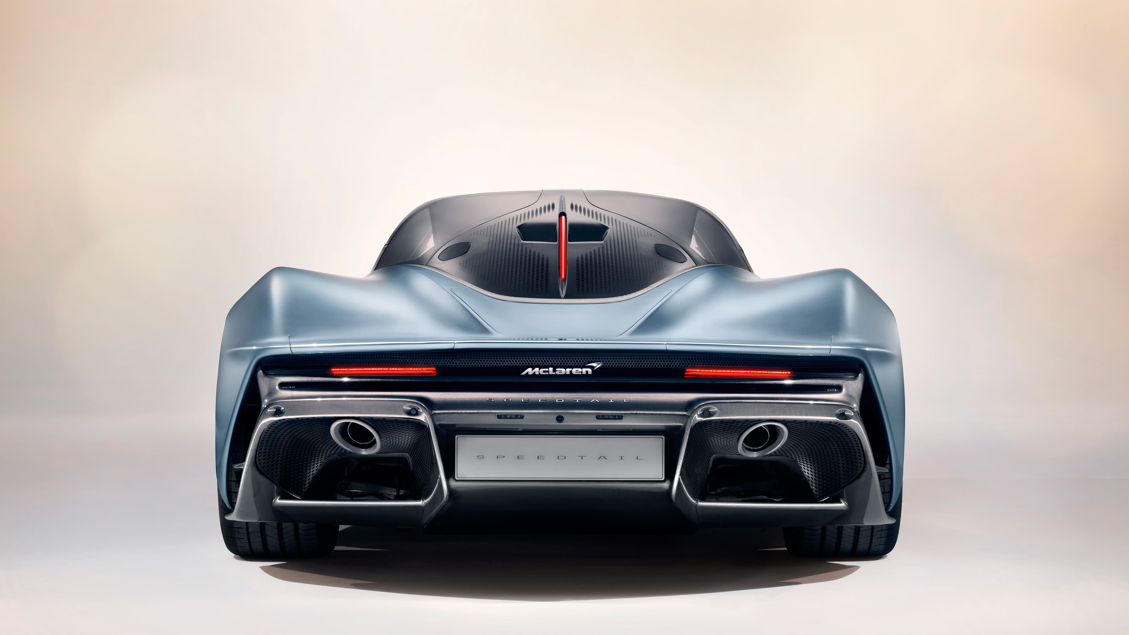 McLaren Speedtail Rear UHD 4K Wallpaper Pixelz 3840x2160