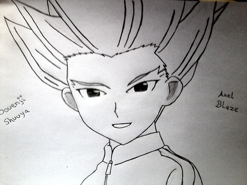 Gouenji Shuuya Axel Blaze by GaaraYamato 1024x768