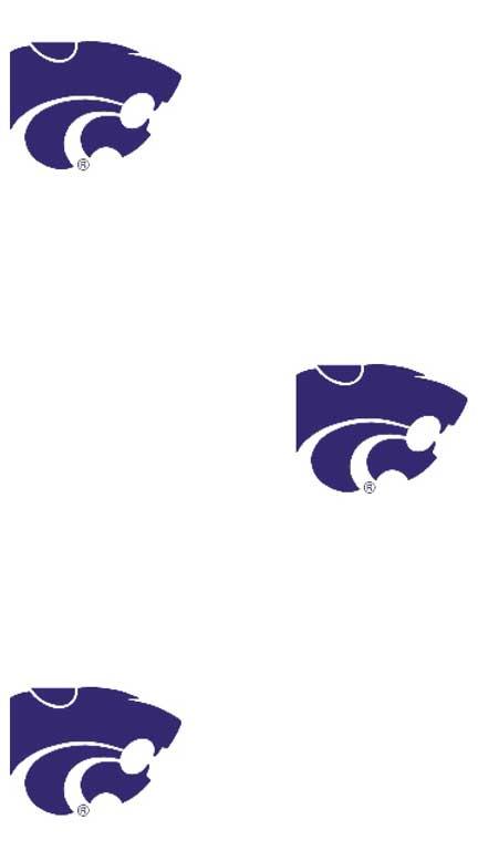 Kansas State Wildcats Logo Wallpaper Double Roll 432x778
