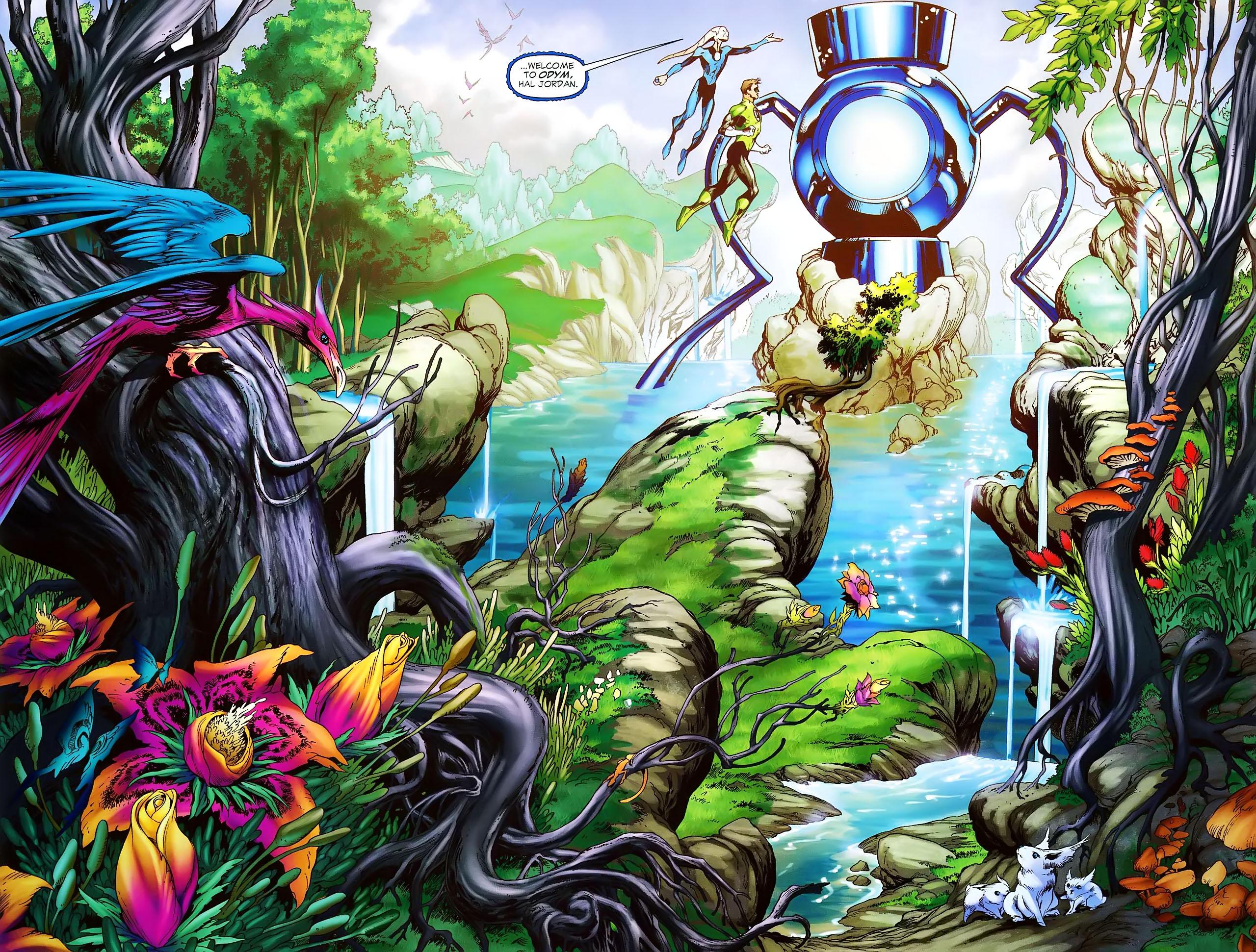 Blue Lantern Corps Computer Wallpapers Desktop Backgrounds 2560x1942