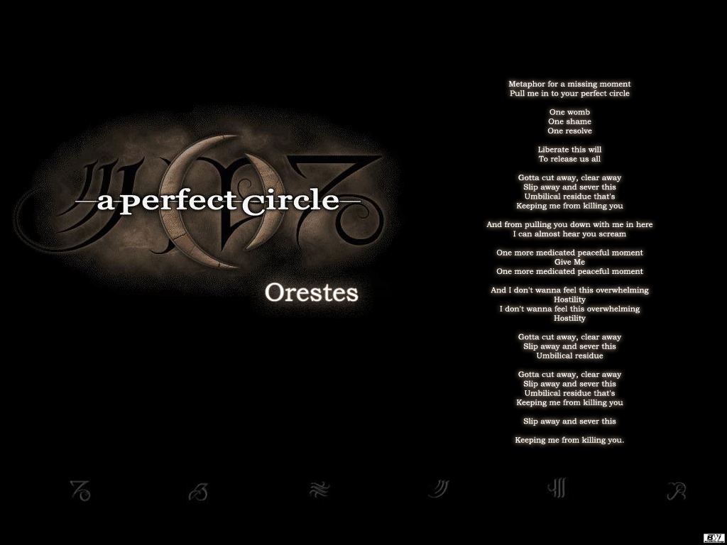 Perfect Circle   Orestes by BlackW0rks 1024x768