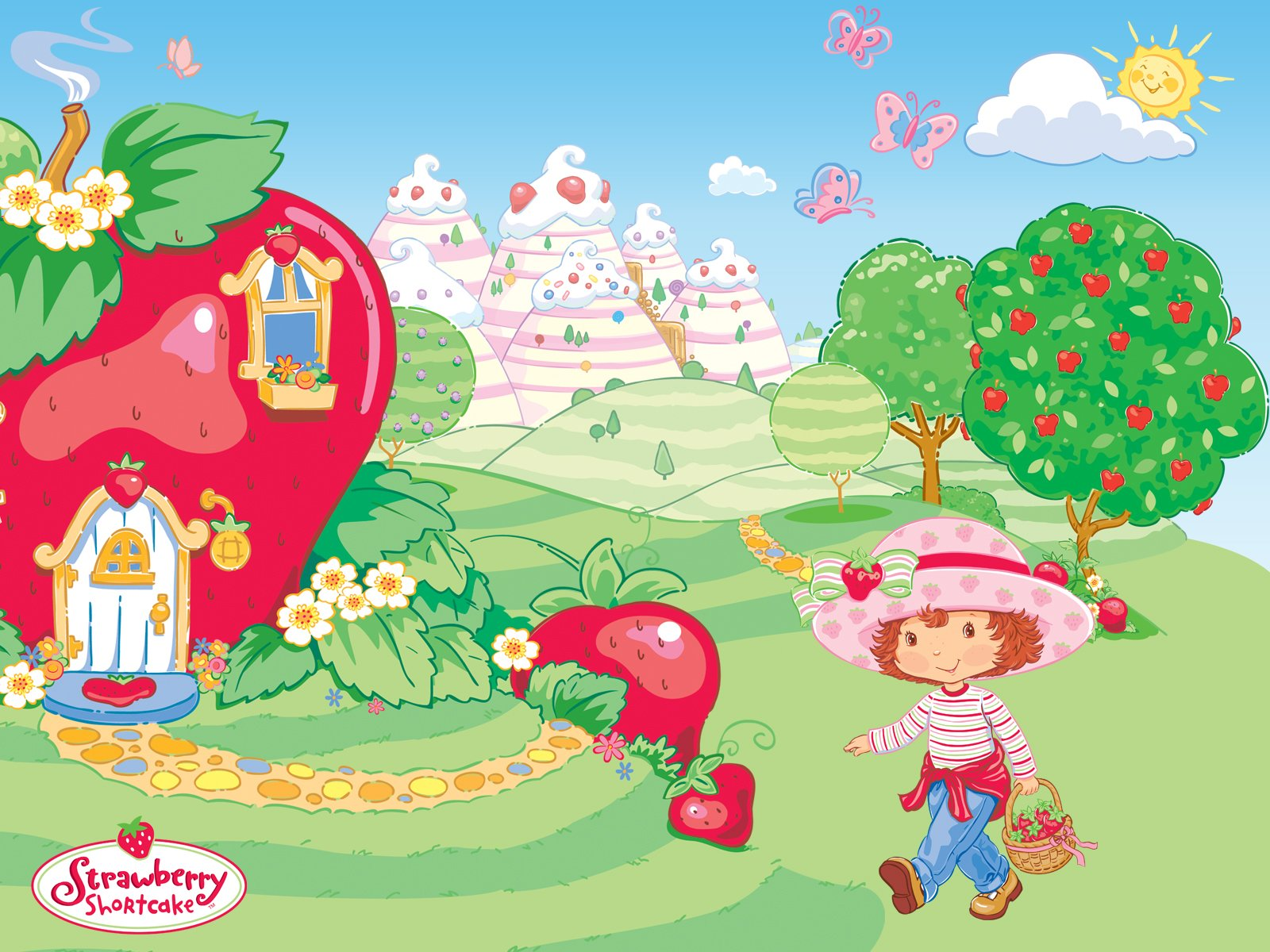 Strawberry Shortcake Desktop Wallpaper - WallpaperSafari