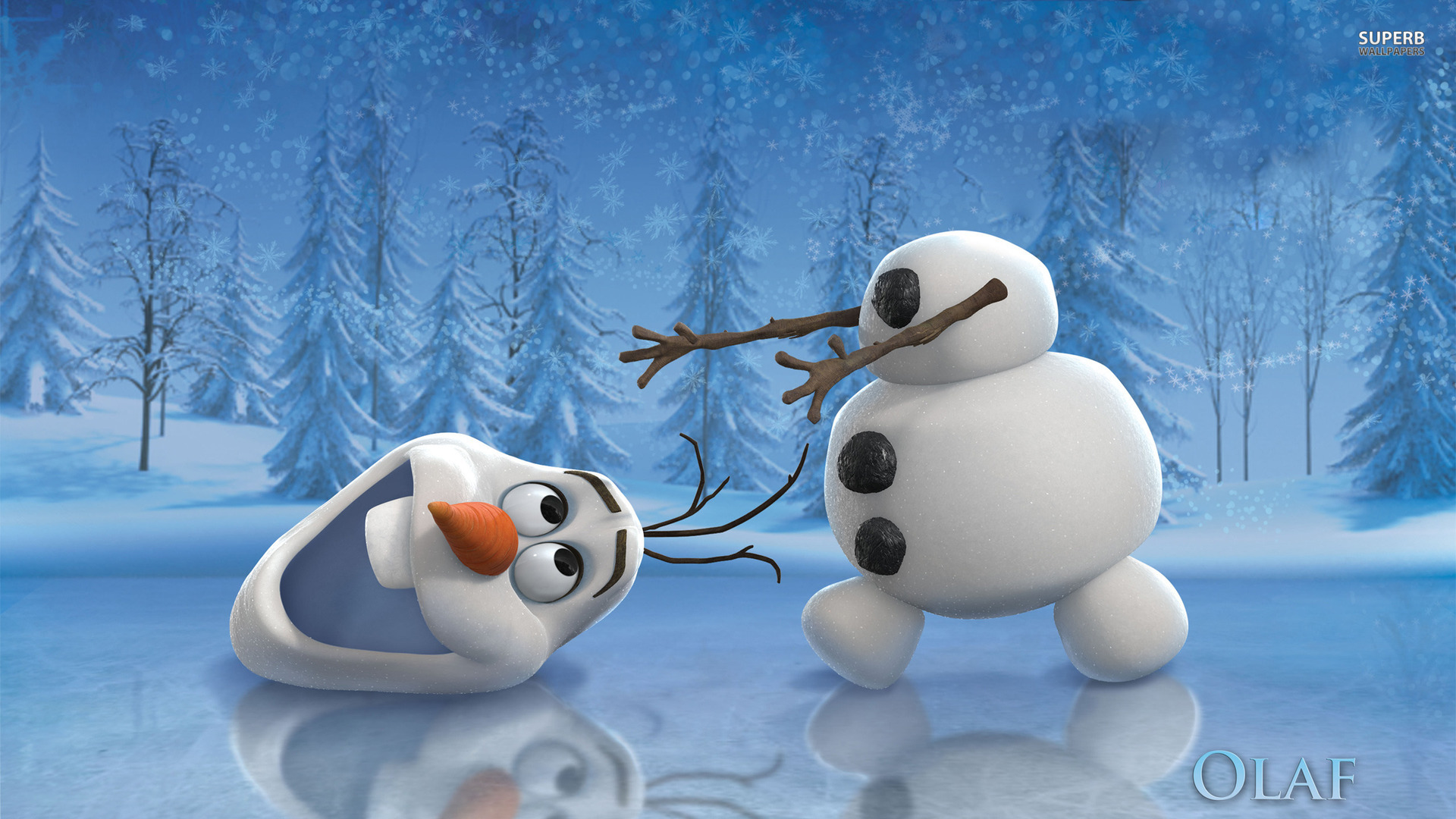 Funny Olaf in Frozen Movie Exclusive HD Wallpapers 1920x1080