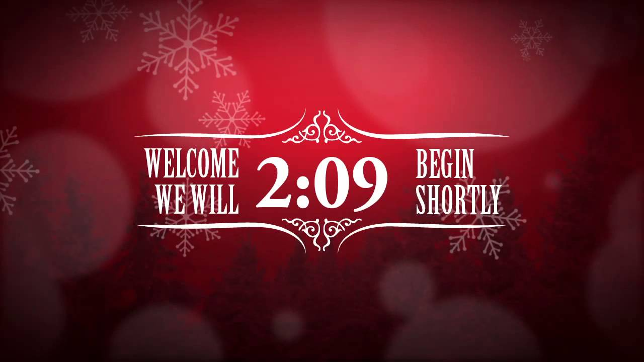 Christmas Countdown Wallpaper Moving Christmas event countdown 1280x720
