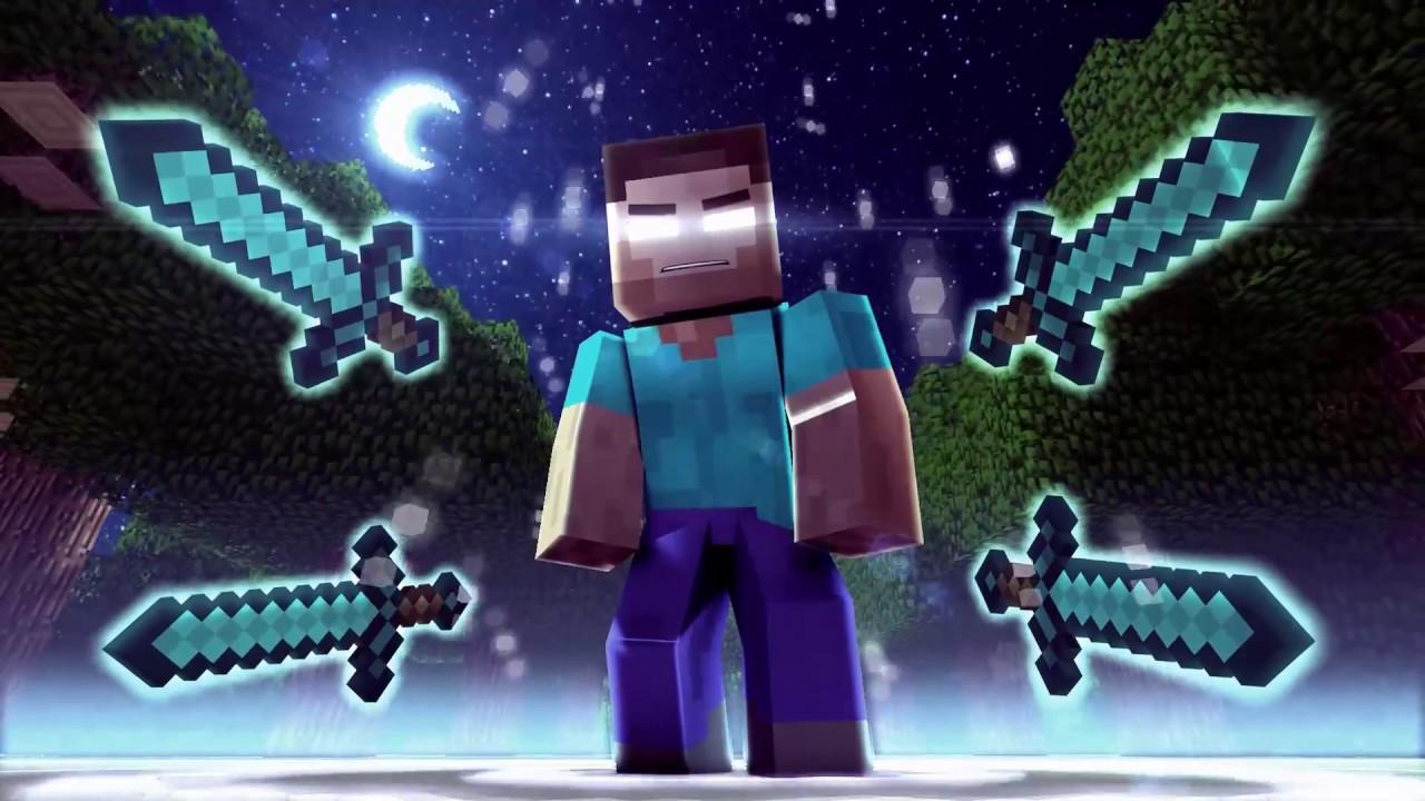 The Power Of Herobrine SpeeDanimT 2 Minecraft   Wallpaper 1280x720